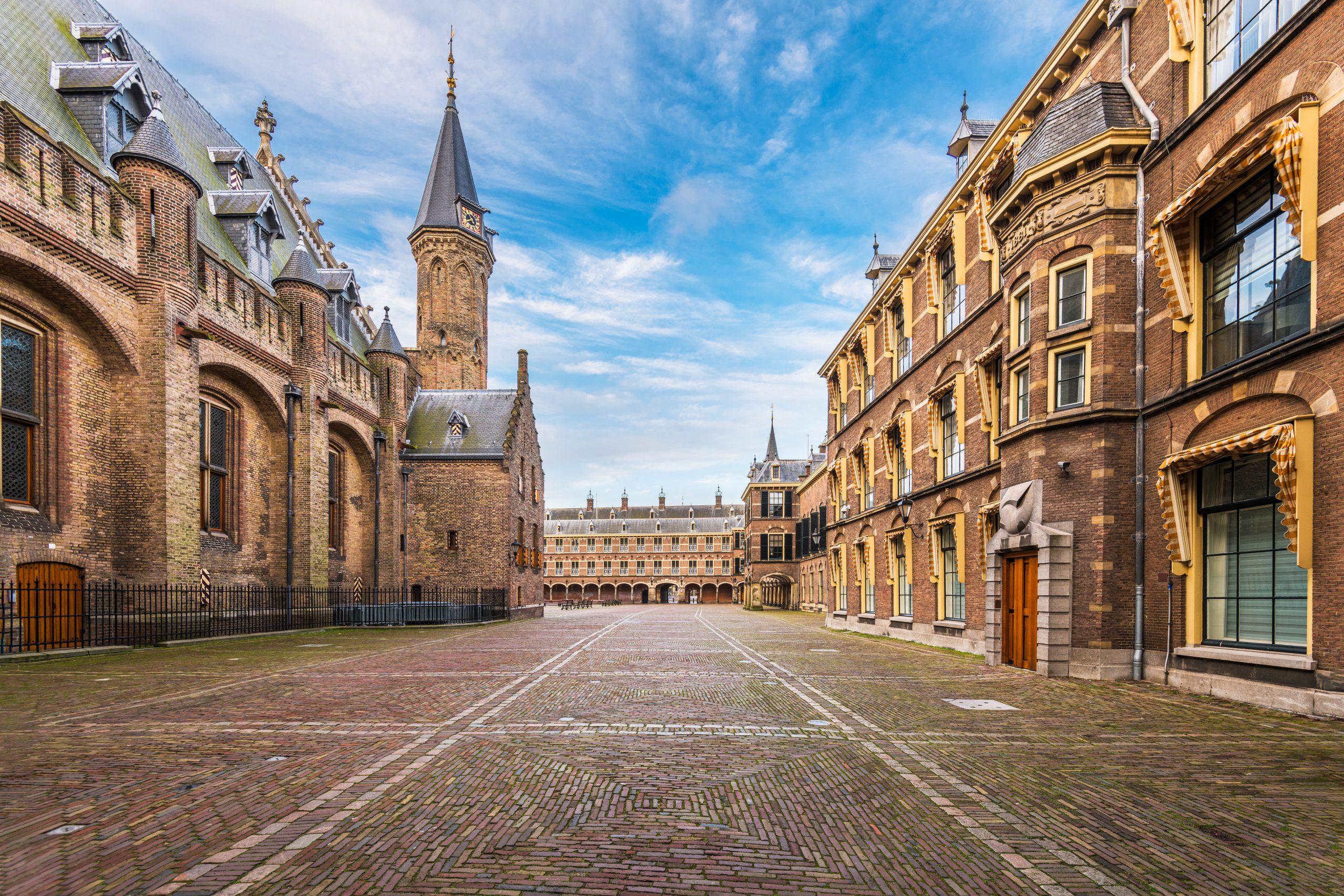 Den Haag binnenplaats